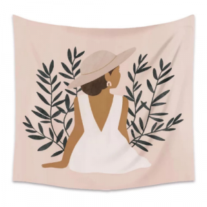 Lady Design Wall Hanging Tapestry Home Decors