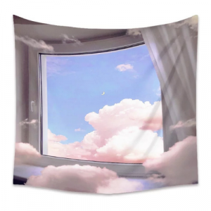 Clouds View Design Wall Hanging Tapestry Home Decors