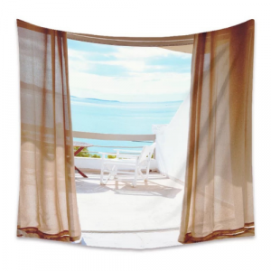 Beach View Design Wall Hanging Tapestry Home Decors