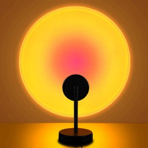 Room Decoration Studio Projection Usb Lamp Light - Sun