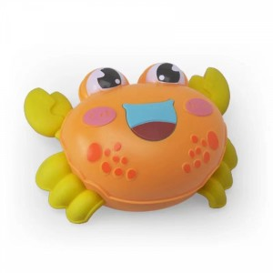 Cute Crab Playable Toy For Children - Orange