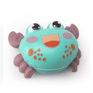 Cute Crab Playable Toy For Children - Blue