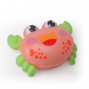 Cute Crab Playable Toy For Children - Pink