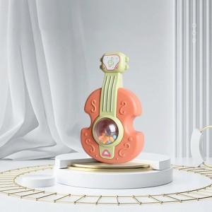 Kids Playable Enjoy Fun Time Playing Rattle Toy - Orange