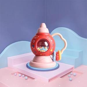 Cute Playable Kids Enjoyable Fun Rattles - Red