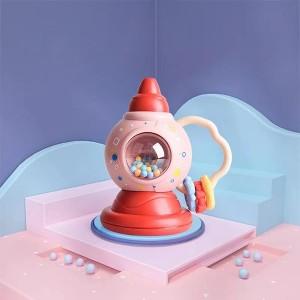 Cute Playable Kids Enjoyable Fun Rattles - Pink