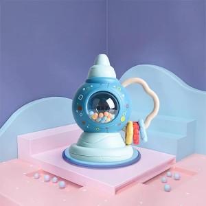 Cute Playable Kids Enjoyable Fun Rattles - Blue