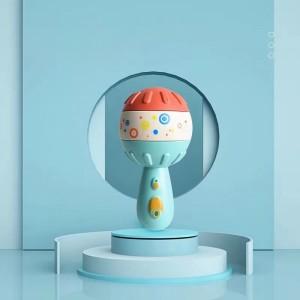 Kids Playable Toy Enjoying Children Rattle - Blue