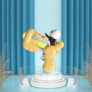 Cute Army Plastic Kids Playable Gun - Yellow