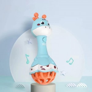 Cute Baby Playable Animal Shaped Toy - Blue