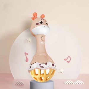 Cute Baby Playable Animal Shaped Toy - Brown