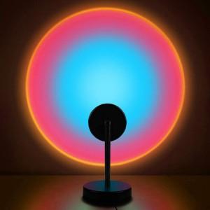 Room Decoration Studio Projection Usb Lamp Light - Rainbow