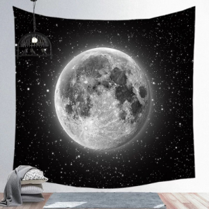 Wall Hanging Tapestry Home Decor  Moon Design