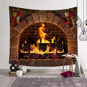 Wall Hanging Tapestry Home Decor Christmas Design