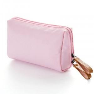 Portable Mini Cosmetic Bag Makeup Bag Waterproof Nylon Make Up Lipstick Organizer