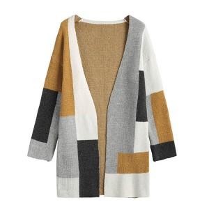 Full Sleeved All Season Outwear Jacket Cardigan - Multicolor