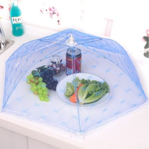 Multifunction Hexagonal Mesh Lace Food Protection Cover