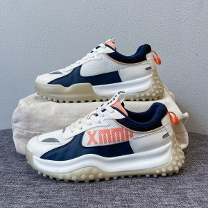 Exquisite Lace Closure Sports Wear Modern Sneakers-  Blue