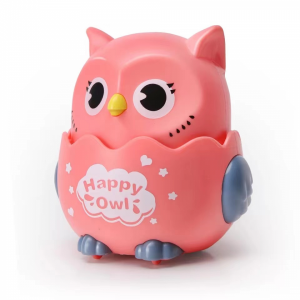 Happy Owl Kids Playable High Quality Playable Toy - Pink