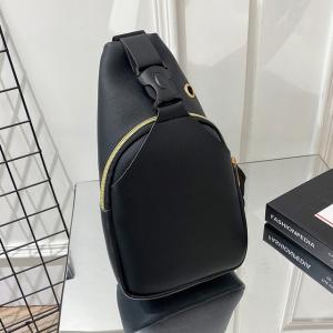 Buckle Closure Zipper Synthetic Leather Mini Backpacks - Black