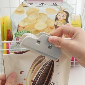 Multi Purpose Keep Fresh Food Sealing Clip - Gray