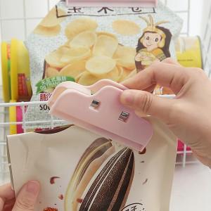 Multi Purpose Keep Fresh Food Sealing Clip - Pink