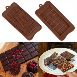 Square Shape Silicone Chocolate Mold