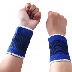 Comfortable Elastic Wrist Brace Support Compression Bandage Gym Running Protection