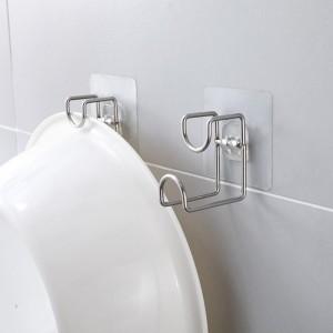 Bathroom Storage Rack Strong Multi Purpose Adhesive Hook Hanger