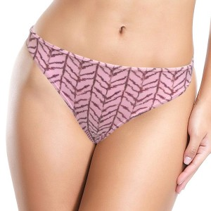 French Cut Printed Elastic Waist Panty Underwear