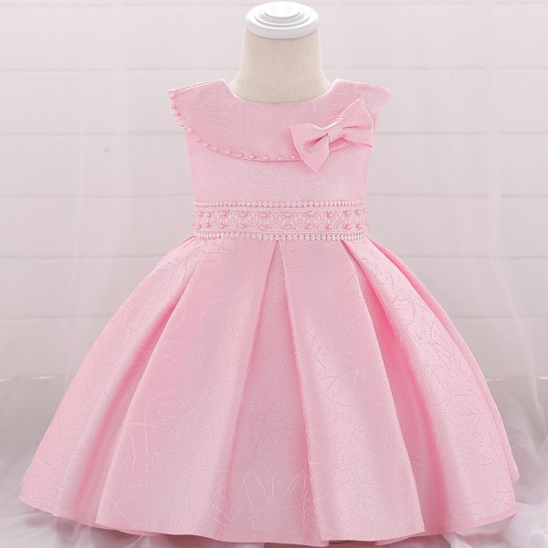 Baby Girl Fashion Party Dress - Pink
