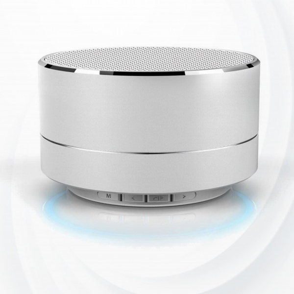 Rechargeable Picnic Good Quality Bluetooth Speaker - Silver