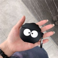 Protective Silicone Case Cover For Airpods - Black