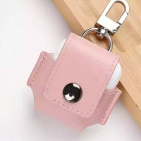 Leather Bluetooth Headphone Case - Pink