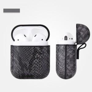 Leather Bluetooth Headphone Case - Dark Gray