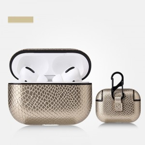 Bluetooth Airpods Case With Light Hole For Airpods Pro - Golden