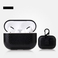Bluetooth Airpods Case With Light Hole For Airpods Pro - Black