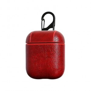 Bluetooth Case For Airpods - Wine Red