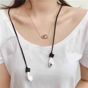 Wireless Headset Anti-lost Rope - Black