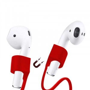 Wireless Earphone Magnetic Anti-lost Rope - Red