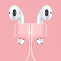 Wireless Earphone Magnetic Anti-lost Rope - Pink