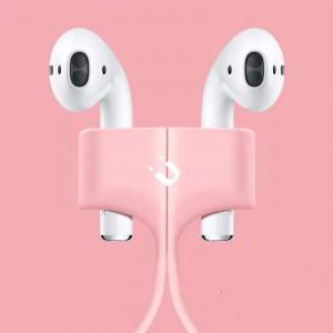 Wireless Earphone Magnetic Anti-lost Rope - Pink