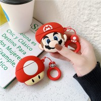 Super Mario Headset Silicone Case For Earpods - Multi Color
