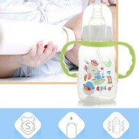 Newborn Baby Anti-flatulence PP 150ml Bottle - Green