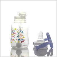 Newborn Baby Anti-flatulence PP 150ml Bottle - Light Blue
