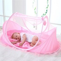 Baby Mosquito Net Set Kids Outdoor Tent - Pink