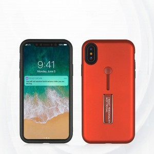 Strap Case Cover With Kickstand For Apple Iphone X