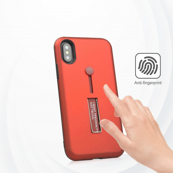 Strap Case Cover With Kickstand For Apple Iphone Xs Max