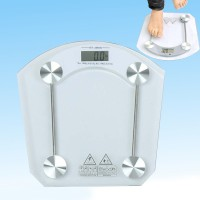 Digital Health Fitness Weighing Scale 180 kg - Transparent