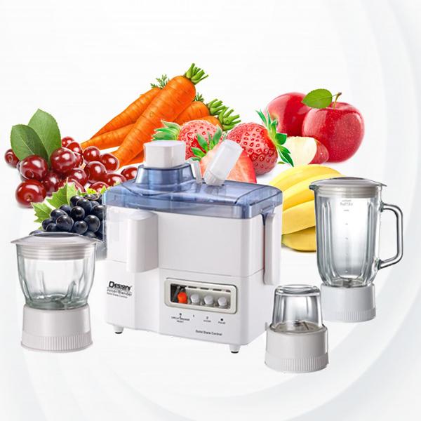 Dessini 4 In 1 Food Processor - White